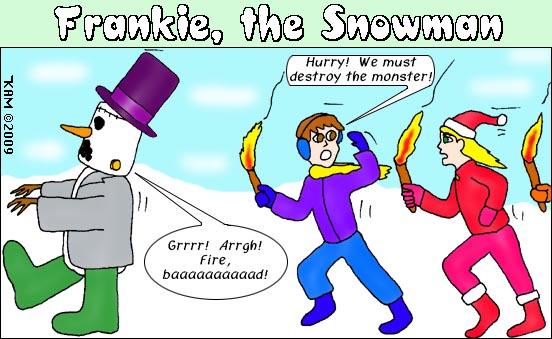 Frankie The Snowman