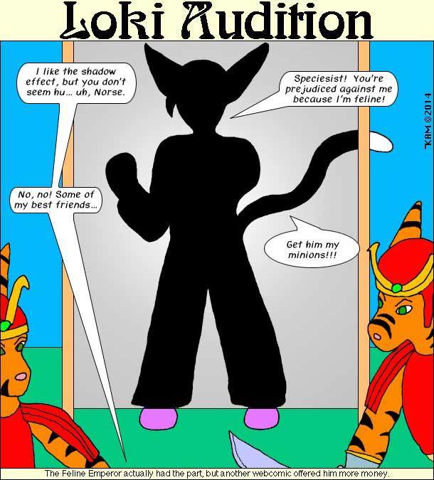 Loki Audition